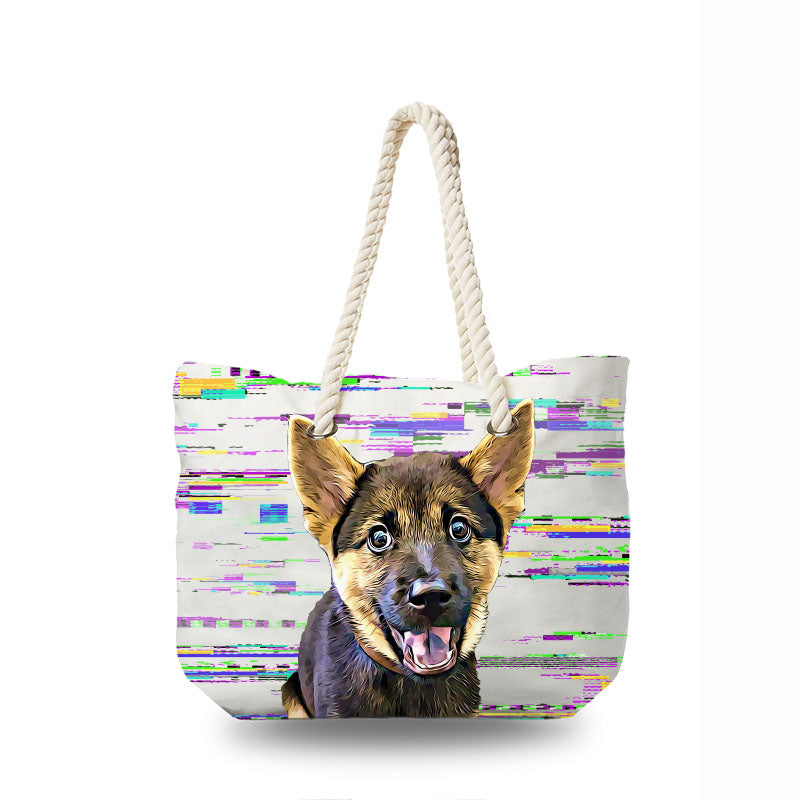Canvas Bag - Modern Art