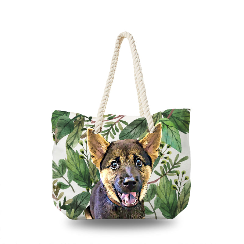 Canvas Bag - Tropical