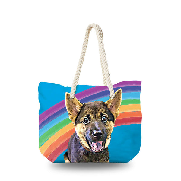 Canvas Bag - Rainbow Sky