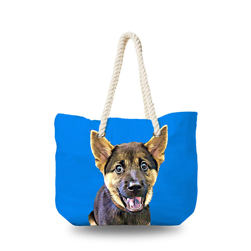 Canvas Bag - Blue