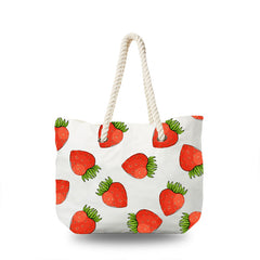 Canvas Bag - Strawberry Love
