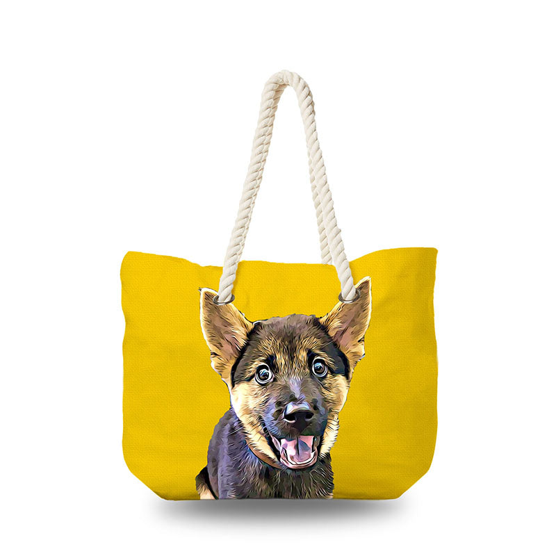 Canvas Bag - Yellow