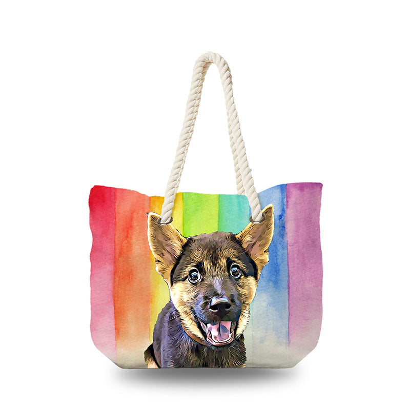 Canvas Bag - Rainbow Drop