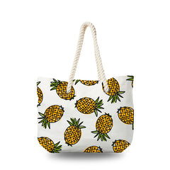 Canvas Bag - Cartoon Golden Pineapple