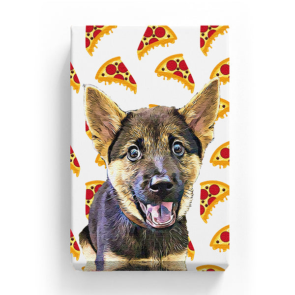 Pet Canvas - Pizza Time