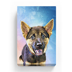 Pet Canvas - Galaxy Geometric
