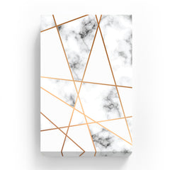 Canvas Print - Gold Line Marble