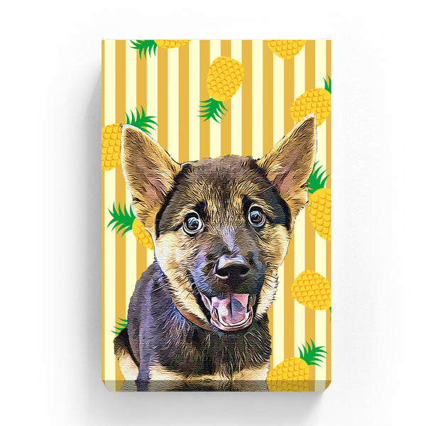 Pet Canvas - Pineapple