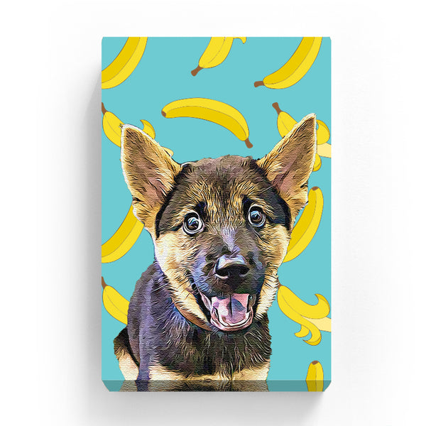 Pet Canvas - Banana