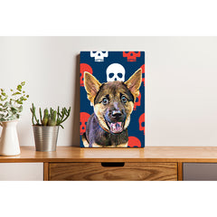 Canvas Print - The Skull