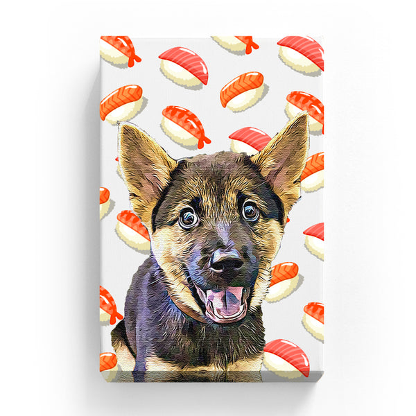 Pet Canvas - Sushi