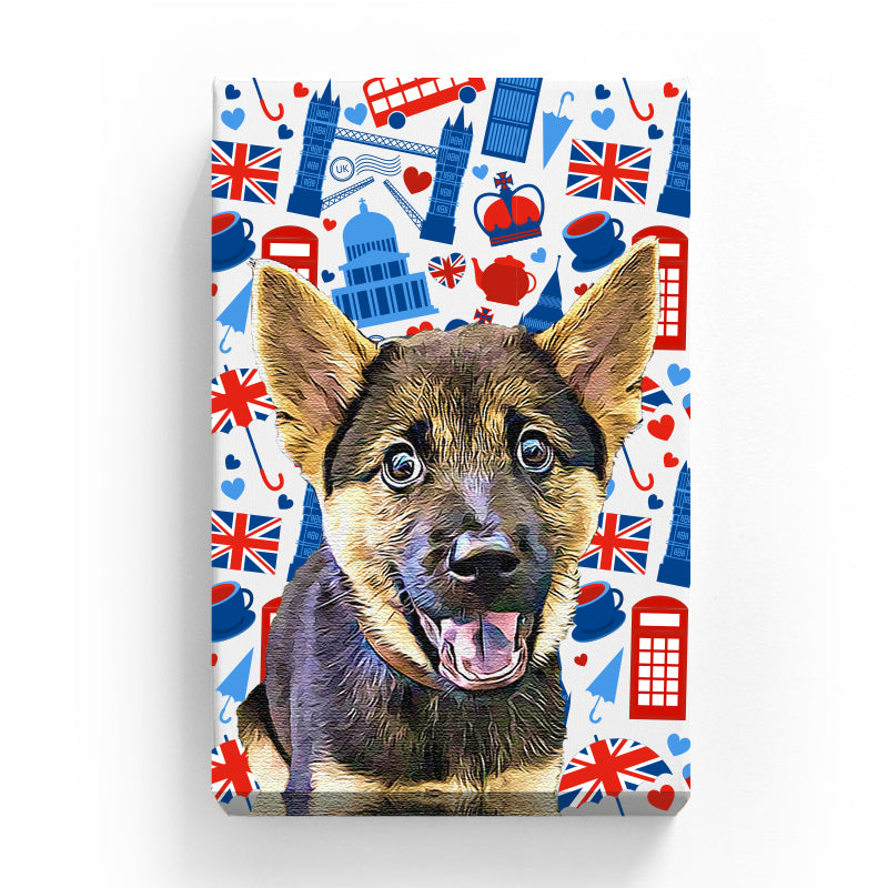 Pet Canvas - London