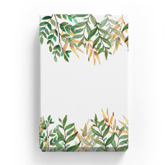 Canvas Print - Beautiful Border with Wild Leaves