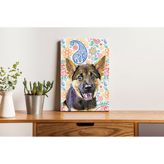 Pet Canvas - Colorful Paisley