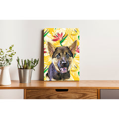 Pet Canvas - Yellow Palm