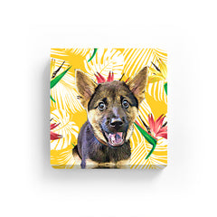 Canvas Print - Yellow Palm