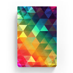 Pet Canvas - Rainbow Polygonal