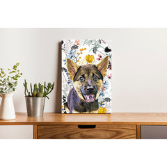 Canvas Print - Wild Flower with Color Floral