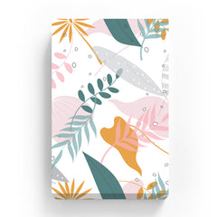 Canvas Print - Abstract  Simple Floral Pattern