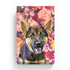 Pet Canvas - Vintage Fade Rose