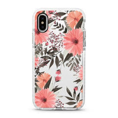 iPhone Ultra-Aseismic Case - Lilac Pink Floral