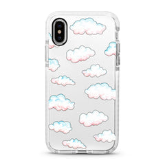 iPhone Ultra-Aseismic Case - Marshmallow Clouds