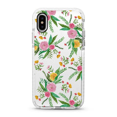 iPhone Ultra-Aseismic Case - Spring Garden Florals