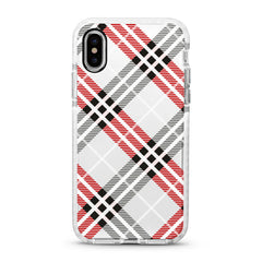 iPhone Ultra-Aseismic Case - Checkered Pattern