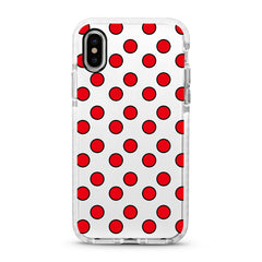 iPhone Ultra-Aseismic Case - Red Dot Dot