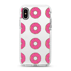 iPhone Ultra-Aseismic Case - Pink Donuts