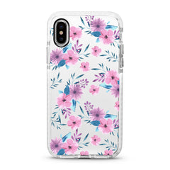 iPhone Ultra-Aseismic Case - Cherry Blossom Floral
