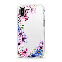 iPhone Ultra-Aseismic Case - Hand Paint Floral