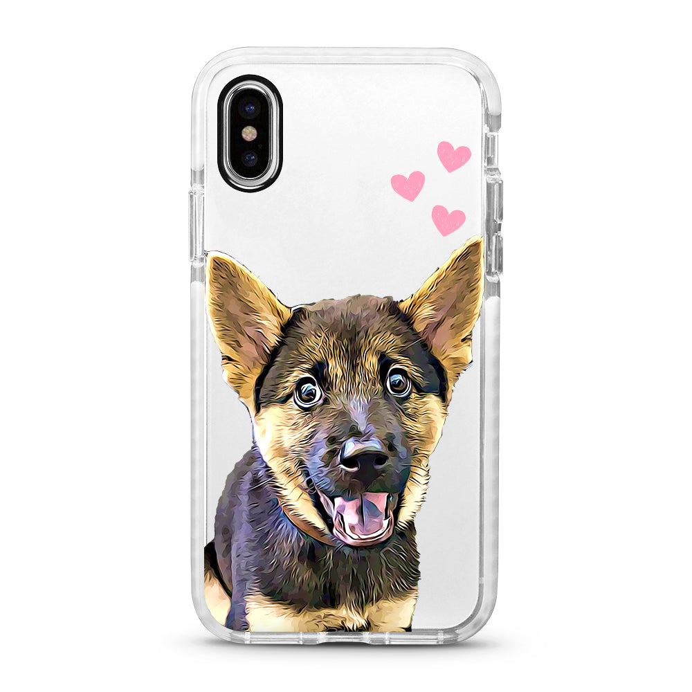 iPhone Ultra-Aseismic Case - Love