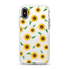 iPhone Ultra-Aseismic Case - Yellow Sunflowers
