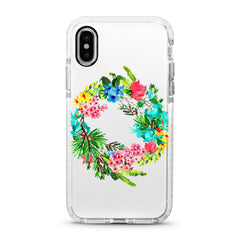 iPhone Ultra-Aseismic Case - Floral Frame