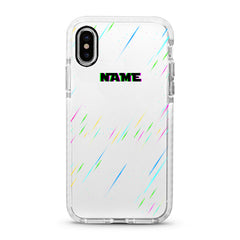 iPhone Ultra-Aseismic Case - Rainbow Rain