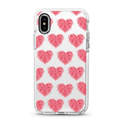 iPhone Ultra-Aseismic Case - The Floral Heart