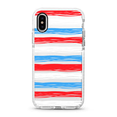 iPhone Ultra-Aseismic Case - RWB Stripe