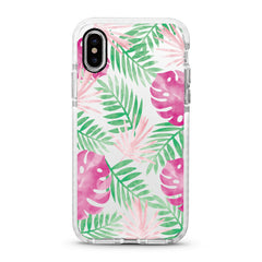iPhone Ultra-Aseismic Case - Pink And Green Palm