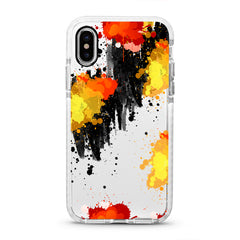 iPhone Ultra-Aseismic Case - Abstract Fire Water Paint