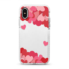iPhone Ultra-Aseismic Case - Hearts Sky