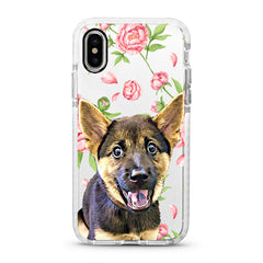 iPhone Ultra-Aseismic Case - Poney Flower