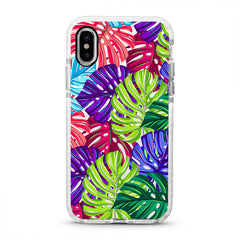 iPhone Ultra-Aseismic Case - Colorful Palm Tree