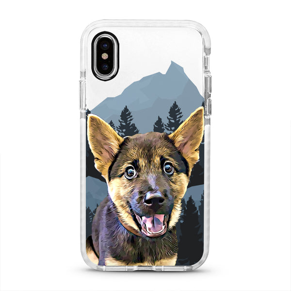 iPhone Ultra-Aseismic Case - Deep Forest