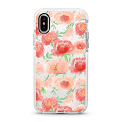 iPhone Ultra-Aseismic Case - Peony Garden