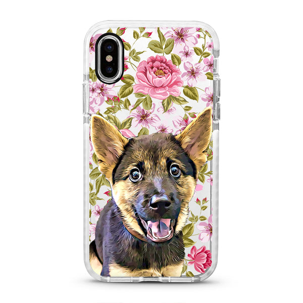 iPhone Ultra-Aseismic Case - Peony Love