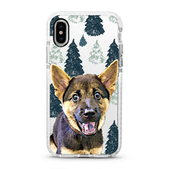 iPhone Ultra-Aseismic Case - Pine Tree Forest