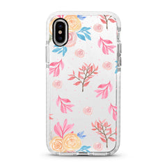 iPhone Ultra-Aseismic Case - Rosy Water Painting