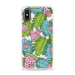 iPhone Aseismic Case - The Starwberry Palm