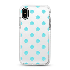 iPhone Ultra-Aseismic Case - Baby Blue Dot